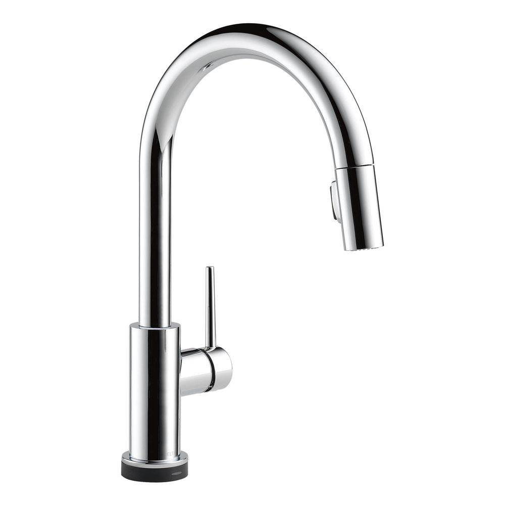 delta single handle kitchen faucet gourmet appliances canada 9159t dst at the water closet serving toronto ontario trinsic pull down with touch2o technology