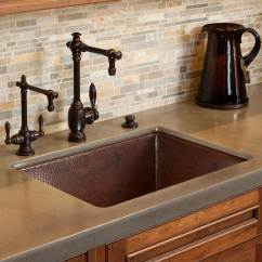 Copper Kitchen Sinks Kitchens And Baths Undermount Tones The Water Closet Native Trails Item Cpk279