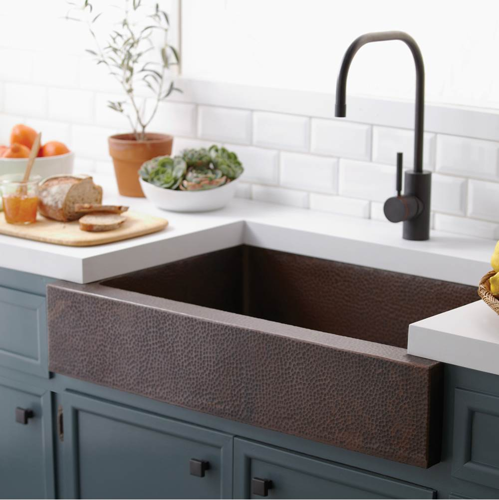 copper kitchen sinks black chairs cheap undermount tones the water closet native trails item cpk291