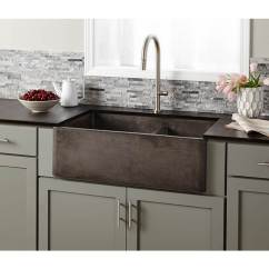 Kitchen Farm Sink Counter Lighting Sinks Farmhouse The Water Closet Etobicoke Native Trails Item Nskd3321 S