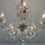 Waterford 5 Arm Comeragh Chandelier For Sale At Watercress Springs Estate Sales