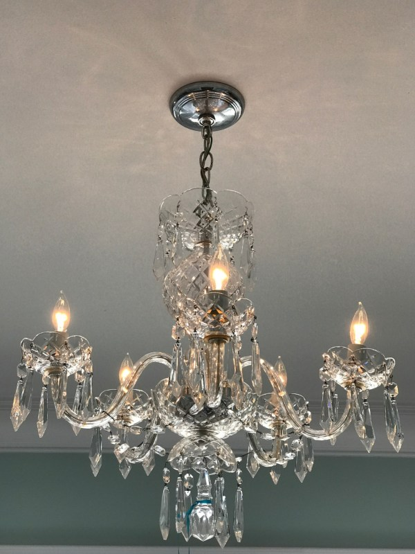 Waterford 5 Arm Comeragh Chandelier