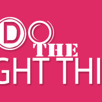 Because the Good Thing Isn't Always the Right Thing