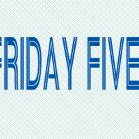 For Your Weekend Reading Pleasure: The Friday Five