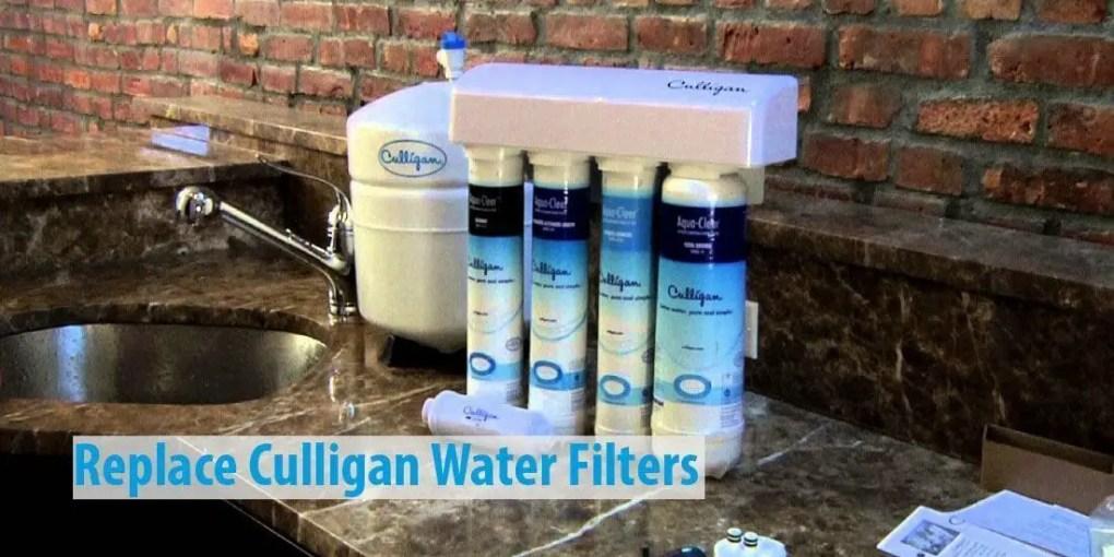 Culligan water filter replacement cartridge