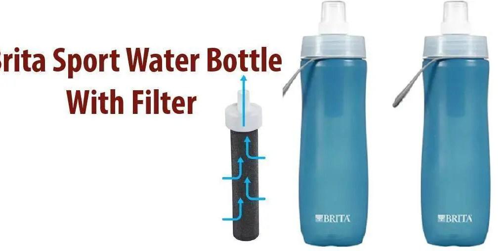 Brita 20 Ounce Sport Water Bottle Filter