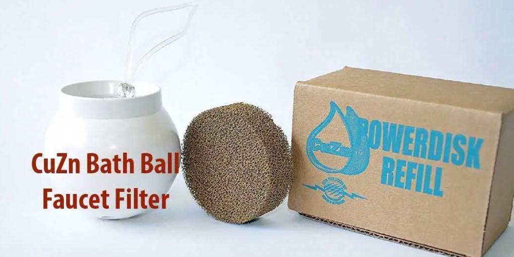 CuZn Bath Ball Faucet Filter