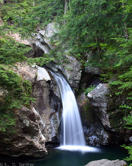 Fall Vermont Wallpaper Bingham Falls In Stowe Vermont