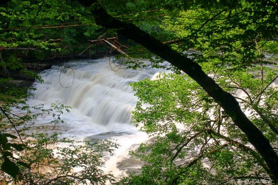 Vermont Wallpaper Fall Little Falls In Burgess Falls State Park