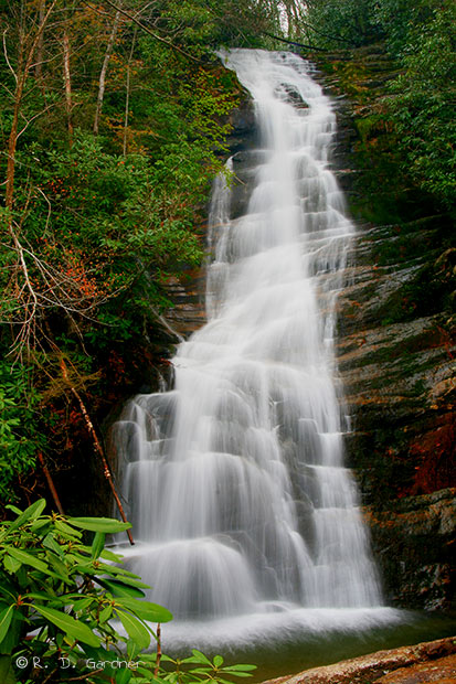 Fall Vermont Wallpaper Red Fork Falls In Unicoi Co Tennessee