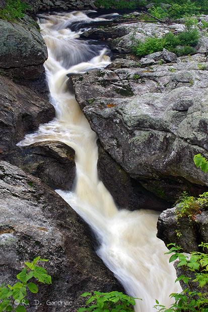 Falls Wallpaper Waterfall Snow Falls Near Newry Oxford Maine