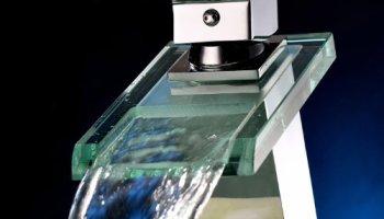 Bathroom Faucet Glass Handles greenspring two handle widespread bathroom sink faucet tub
