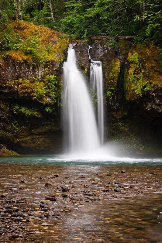 Iron Creek Falls Skamania County Washington  Northwest