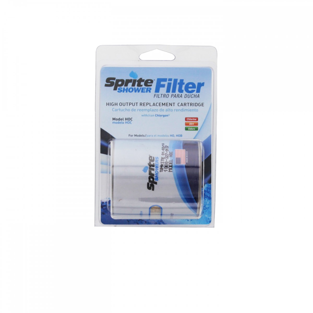 Sprite HOC Shower Filter Cartridge Replacements