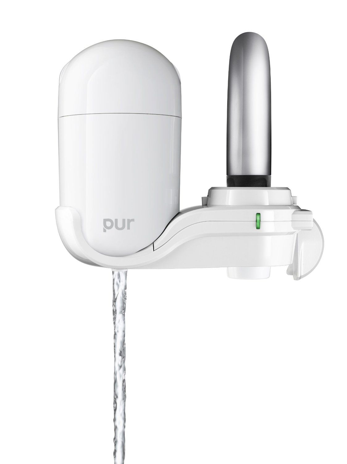 pur fm 3333b 2 stage vertical faucet filter system white
