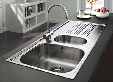 sink for kitchen backsplash images choosing the right your waterfiltershop co uk blog