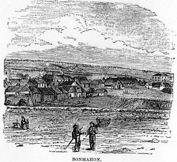 Bonmahon Village