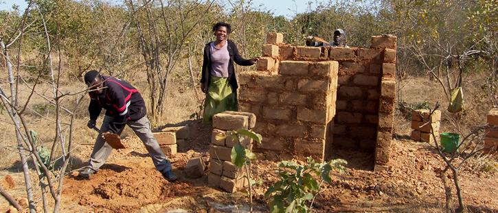 latrine building