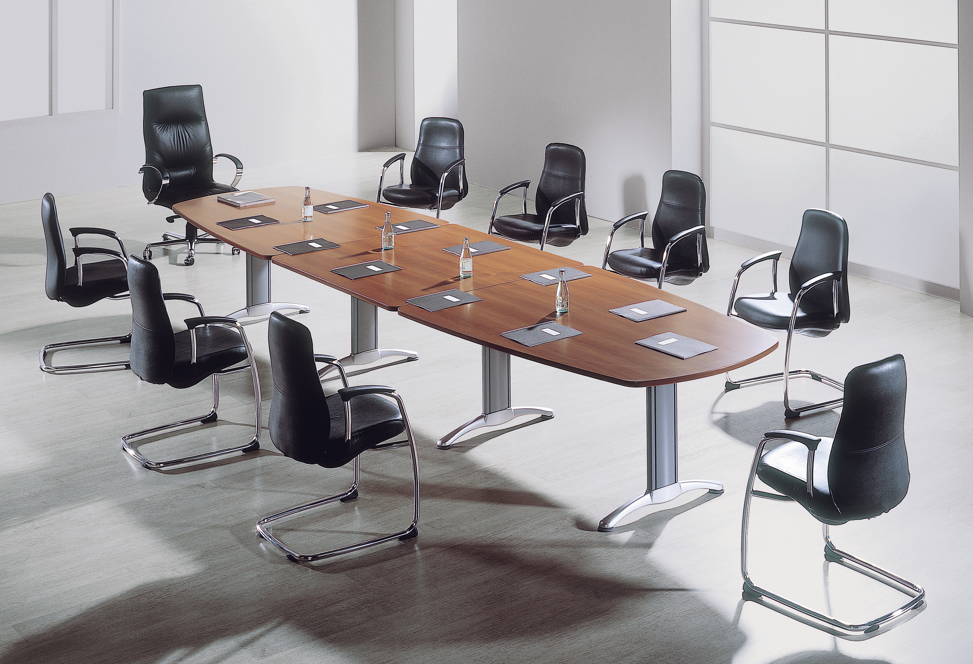 Executive Boardroom Table 3 2m Seats 10 Next Day Delivery Next Day Furniture General Boardroom Tables Clearance And Offers Waterfront Warehouse