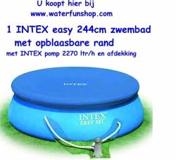 Intex Quickup Pool Van Cm Met Pomp Ltr Van Intex Garantie Jaar