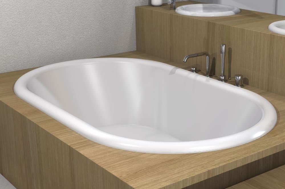 baignoire ovale 2 places belgravia
