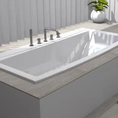 baignoire rectangulaire baignoire