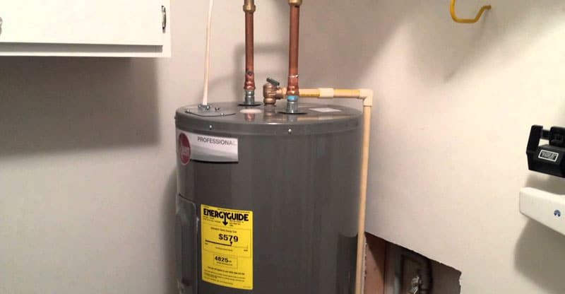 If You Are Replacing An Electric Water Heater Your Wiring Should