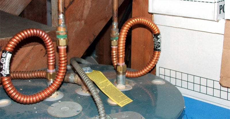 Flex Water Lines For Hot Water Heater