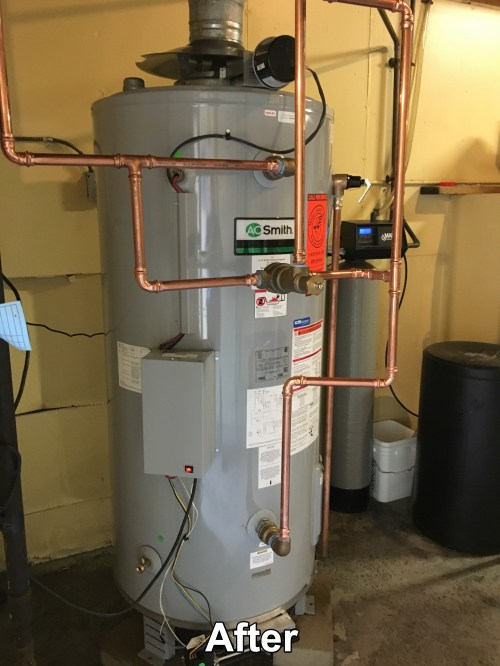 small resolution of ao smith water heater installation