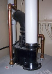Definition of power-vent water heater