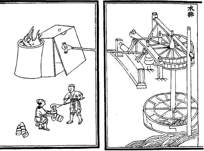 Ancient Chinese Waterwheel