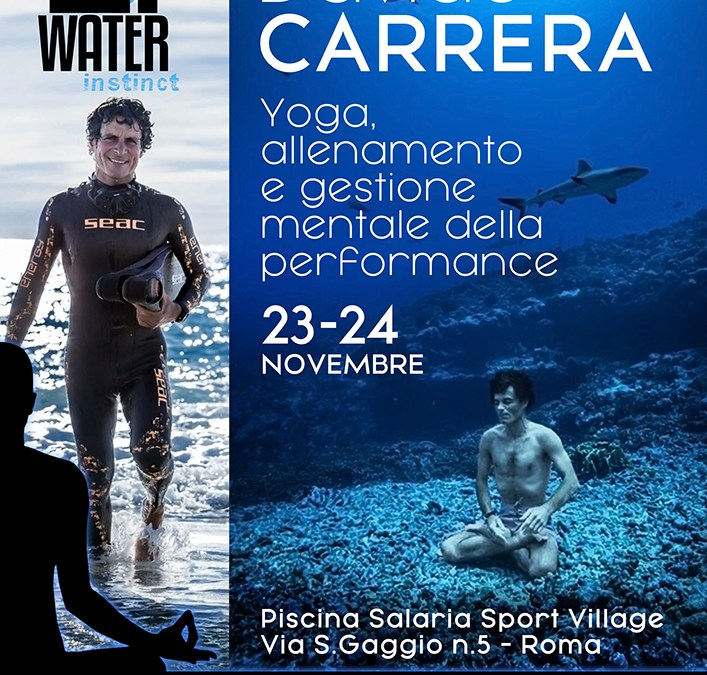 Stage di Apnea con Davide Carrera