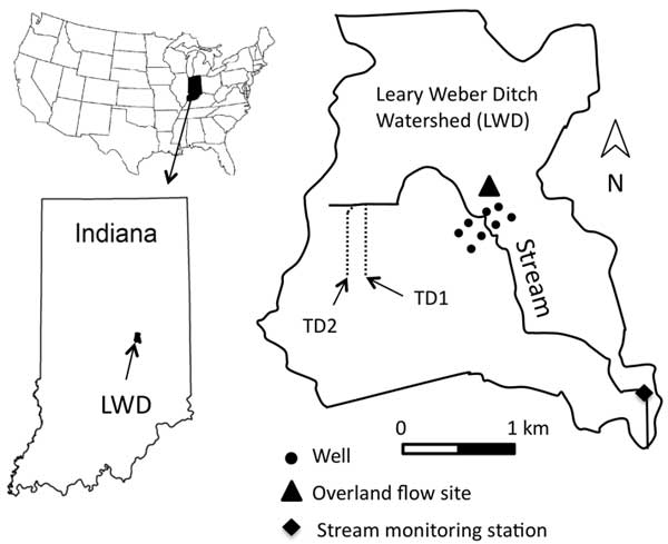 Storm Flow Generation in Artificially Drained Landscapes