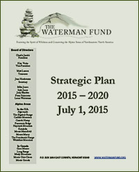 Waterman Fund Strategic Plan 2015-2020
