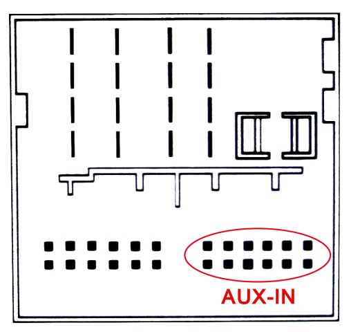 AUX Adapter Kabel BMW E39 E60 E61 E85 Business CD Radio