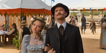 Amanda Seyfried, Neil Patrick Harris, and others actors aren't used to their full comic potential.