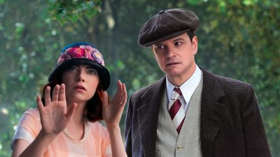 Emma Stone and Colin Firth star in Woody Allen's Magic in the Moonlight