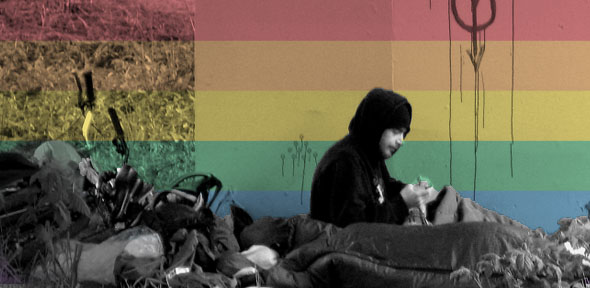 Image result for lgbt homeless