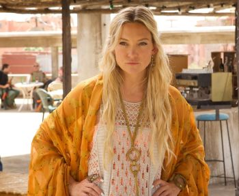 Even with her cliché part, Kate Hudson shows some life.