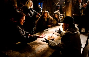 Quentin Tarantino writes and directs more than eight loathsome characters in his long, bloody Western shootout.