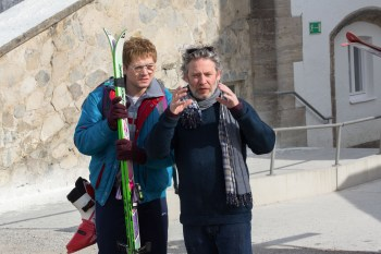 Little-known director Dexter Fletcher coaches Taron Edgerton in Eddie the Eagle.