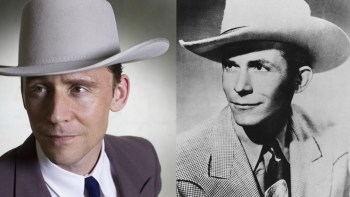 Tom Hiddleston gets Hank Williams' look right, even as he comes off too stiff and presentational.