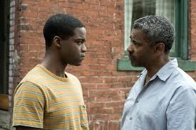 Jovan Adepo portrays Cory, the long-suffering son of Washington's Troy Maxson.