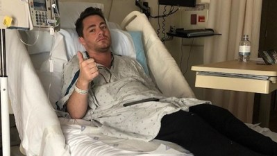 Colton Haynes opens up about addiction, shares throwback hospital photos