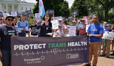 Nat'l Center for Trans Equality regroups after mass staff departures