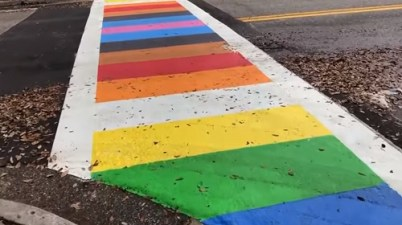 Sarasota unveils 'welcoming, inclusive' crosswalk