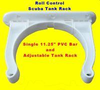 Roll Control Scuba Tank Rack speragun holder bar adjustable