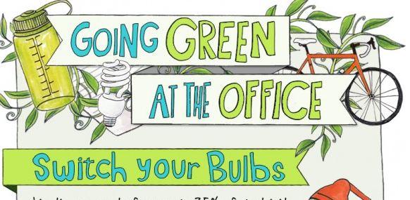 "Fate diventare ""green"" i vostri uffici (infografica)"