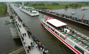 Itinerari. Il ponte d'acqua di Magdeburgo