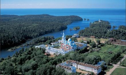 Il lago Ladoga e il monastero Valaam